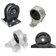 01-05 Chrysler Sebring; 00-05 Mitsubishi Eclispe; 99-03 Galant 2.4L Engine & Transmission Mount Kit