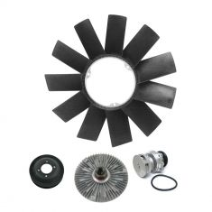 Water Pump, Pulley, Fan Clutch & Blade Kit