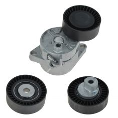 97-06 BMW 3, 5, X, Z Series Serpentine Belt Tensioner With Pullies Kit
