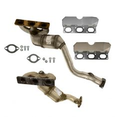 01-06 BMW 3 Series (exc Xi); 01-02 Z3 (exc 3.2L) Exhaust Manifold w/Cat Conv & Gasket Kit PAIR