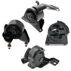 93-97 Toyota Corolla 1.6L 1.8L w/ Auto Trans (US Built) Engine & Transmission Mount (Set of 4)