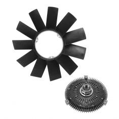 BMW 3 5 7 Series M3 M5 X5 Z3 Multifit Fan Clutch & Blade Kit