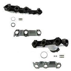 05-09 Chevy Equinox; 06-09 Pontiac Torrent w/3.4L Exhaust Manifold w/Install Kit PAIR