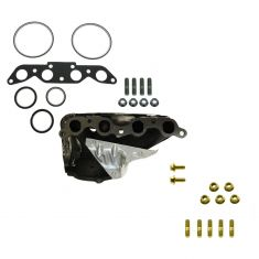 89-97 Toyota, Geo 1.6L 1.8L Exhaust Manifold (With 02 Port) with Hardware