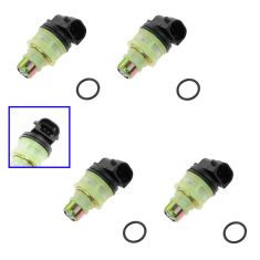93-97 Buick; Chevy; GMC; Isuzu; Olds; Pontiac 2.2L Multifit Fuel Injector Set of 4