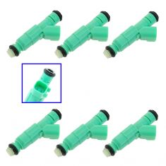 01-07 Chrysler T&C; Dodge Caravan; Voyager 3.3 Fuel Injector Set of 6