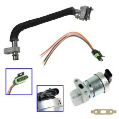 05-09 Chevy Equinox; 06-09 Pontiac Torrent Updated EGR Valve & Tube Kit w/ Pigtail