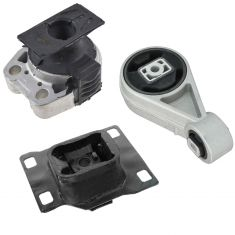 05-07 Ford Focus MT, 10-12 Transit 2.0L Engine & Transmission Mount Set