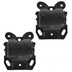 85-96 G10-G30, G1500-G3500 Van w/6 Cyl Front Engine Mount PAIR
