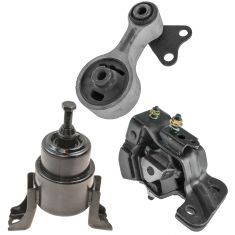 03-08 Mazda 6 w/3.0L & AT Engine & Transmission Mount Kit (Set of 3)