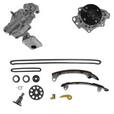 10-12 H250h; 05-10 tC; 02-09 Cmry; 01-07 Hghlndr; 09-11 Matrix; 04-08 Rav4 Wtr Pmp, Oil Pmp, Tmg Kit