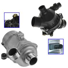 Electric Water Pump & Thermostat w/Housing Kit for BMW