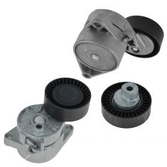 97-06 BMW 3, 5, X, Z Series Serpentine Belt Tensioner With Pullies Kit (Mechanical A/C Ten)