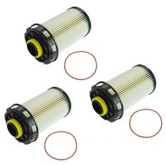 10 Dodge Ram 2500, 3500; 11-13 Ram 2500, 3500 w/6.7L Diesel Fuel Filter Set of 3