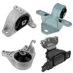 01-07 Dodge Caravan/Grand Caravan 3.3/ 3.8L Engine Motor & Trans. Hydraulic Mount Set 4PCS