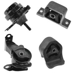 02-06 Honda CR-V w/AT Engine & Transmission Mount Kit (Set of 4)