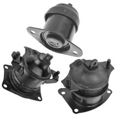 04-08 Acura TL w/3.2L; 07-08 TL w/3.5L; 03-07 Accord w/3.0L Engine Mount Kit (Set of 3)