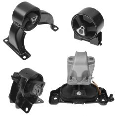 08-10 Chrysler, Dodge; 09-10 VW Minivan 4.0L Engine & Transmission Mount Kit (Set of 4)