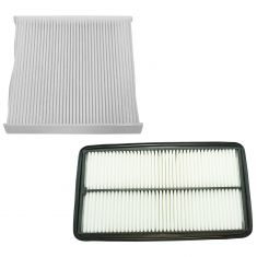 07-09 Acura MDX w/3.7L; 05-10 Odyssey w/3.5L; 09-15 Pilot w/3.5L Engine & Cabin Air Filter Kit