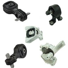 07-11 Honda CR-V w/2.4L Transmission & Engine Mount Kit (Set of 5)