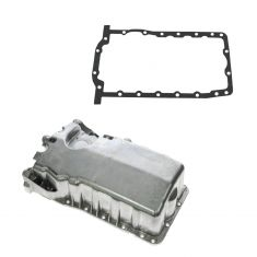 99-07 VW 1.8L; 01-02 Audi 1.8L Aluminum Engine Oil Pan w/o Low Oil Sensor w/ Gasket