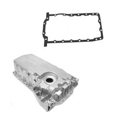 99-03 VW 1.8L; 01-06 Audi TT 1.8L Turbo Aluminum Engine Oil Pan w/ Low Oil Sensor prov w/ gasket