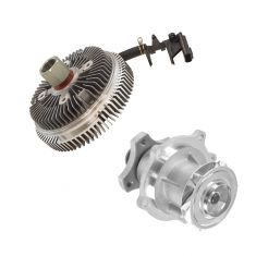 02-09 GMC Chevy Buick Olds Mid Size SUV Fan Clutch & Water Pump Kit
