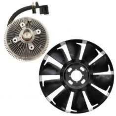 02-09 GMC Chevy Buick Olds Mid Size SUV Fan Clutch & Blade Kit