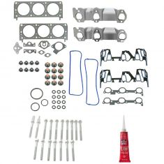95-99 Buick Chevy Olds Pontiac 3.1L (8th Vin Digit M) Graphite Head Gasket, Bolt, & RTV SET