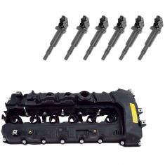 1, 3, 5, 7 Series X6 Z4 BMW Valve Cover, Gasket, Ignition Coil Kit