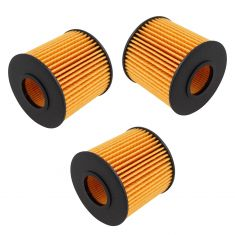 Lexus; Toyota; Scion Catridge Oil Filter Set of 3