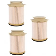 13-18 Ram 2500; 3500; 4500; 5500 6.7L Diesel Fuel Filter Set of 3