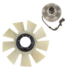 04-10 Ford Econoline; 03-07 Super Duty Truck 6.0L Diesel Fan Clutch and Blade Kit