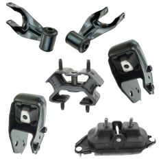 06-07 Chevy Monte Carlo; 06-11 Impala w/3.5L, 3.9L Engine & Transmission Mount Kit (6 Piece Set)