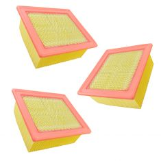 07-18 Dodge Ram Truck 2500; 3500; 4500 6.7L Diesel Air Filter (Set of 3)