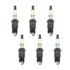 AC Delco R43TS Spark Plug Set of 6