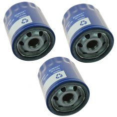 83-86 AMC; 76-12 GM; 81-86 Jeep; 05-06 Saab; 03-08 Isuzu Engine Oil Filter Set of 3 (AC Delco)