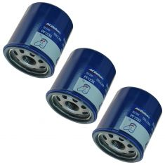 85-03 Chevy; 89-97 Geo; 03-10 Pontiac; 04-14 Scion Multifit Engine Oil Filter Set of 3 (AC Delco)
