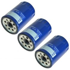 78-12 GM; 06-10 H3; 03-08 Isuzu; 05-09 Saab; 06-10 Saturn Engine Oil Filter Set of 3 (AC Delco)