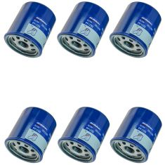 85-03 Chevy; 89-97 Geo; 03-10 Pontiac; 04-14 Scion Multifit Engine Oil Filter Set of 6 (AC Delco)