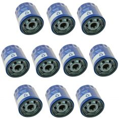 14-16 Regal; 13-16 ATS; 14-16 CTS; 15-16 Canyon; 12-16 Chevy Engine Oil Filter Set of 10 (AC Delco)