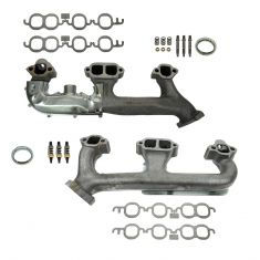 88-95 C/K 305/350 Exh Manifold  & Gasket Kit Pair (Dorman)