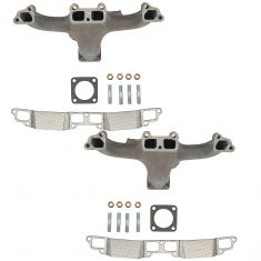 93-75 Dodge Multifit 6.8L 5.9L Exh Manifold & Gasket Kit Pair (Dorman)