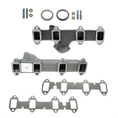 68-76 Ford PU Truck 360 390 Exh Manifold & Gasket Kit Pair (Dorman)