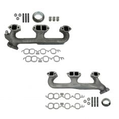 96-00 GM Van; Pickup; SUV 5.7L, 5.0L Exh Manifold & Gasket Kit Pair (Dorman)