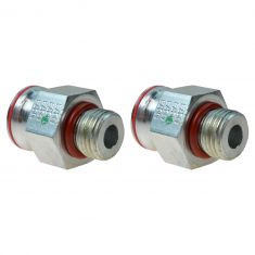 98-03 F250-F550SD, E350,E450; 00-03 Excrsn w/7.3L Dsl Cyl Hd High Press Oil Pump Fitting PAIR (FD)