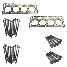 03-05 Excursion; 03-07 F250-F550; 04-10 Van (6.0L & 20mm Dowel) Head Gasket & Bolt Set (FEL PRO)