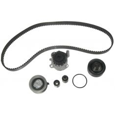 VW 4 Cyl 1.9L Timing Belt Water Pump Kit 6 Components