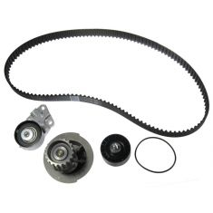 Chevy Suzuki L4 1.6L Timing Belt Water Pump Kit 4 Components