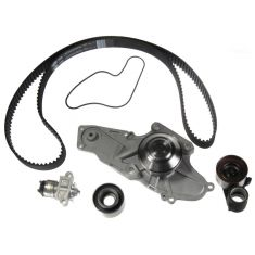 Honda v6 3.2l 3.5L Timing Belt Water Pump Kit 5 Components